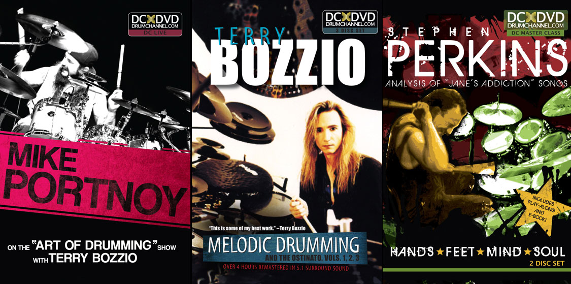 Drum Channel DVDs